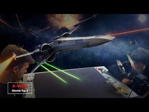 Top 4.1 | X-Wing | FFG Worlds 2015 | Phillip Booth - Nathan Eide