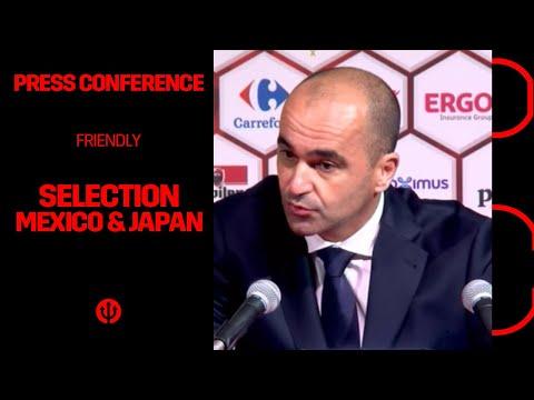 LIVESTREAM | Selection Belgian Red Devils vs Mexico/Japan