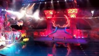 Шоу Тайна подземного моря в Олимпийском бассейне.