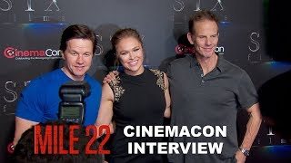 Download Video 'Mile 22' CinemaCon Interview MP3 3GP MP4
