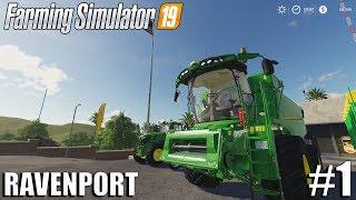 Welcome to Ravenport| Ravenport | Timelapse #1 | Farming Simulator 19
