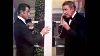 Dean Martin & Jimmy Stewart - SKETCH - At the Telephone Booth