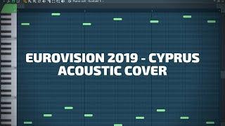 Eurovision 2019 - Cyprus acoustic guitar cover (Tamta - Replay) Tutorial Karaoke Instrumental Chords