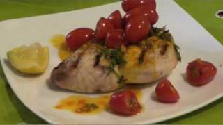 Friday Night In - 001 Swordfish Saffron Cherry Tomatoes - Chad Carns The Gourmet Bachelor.mov