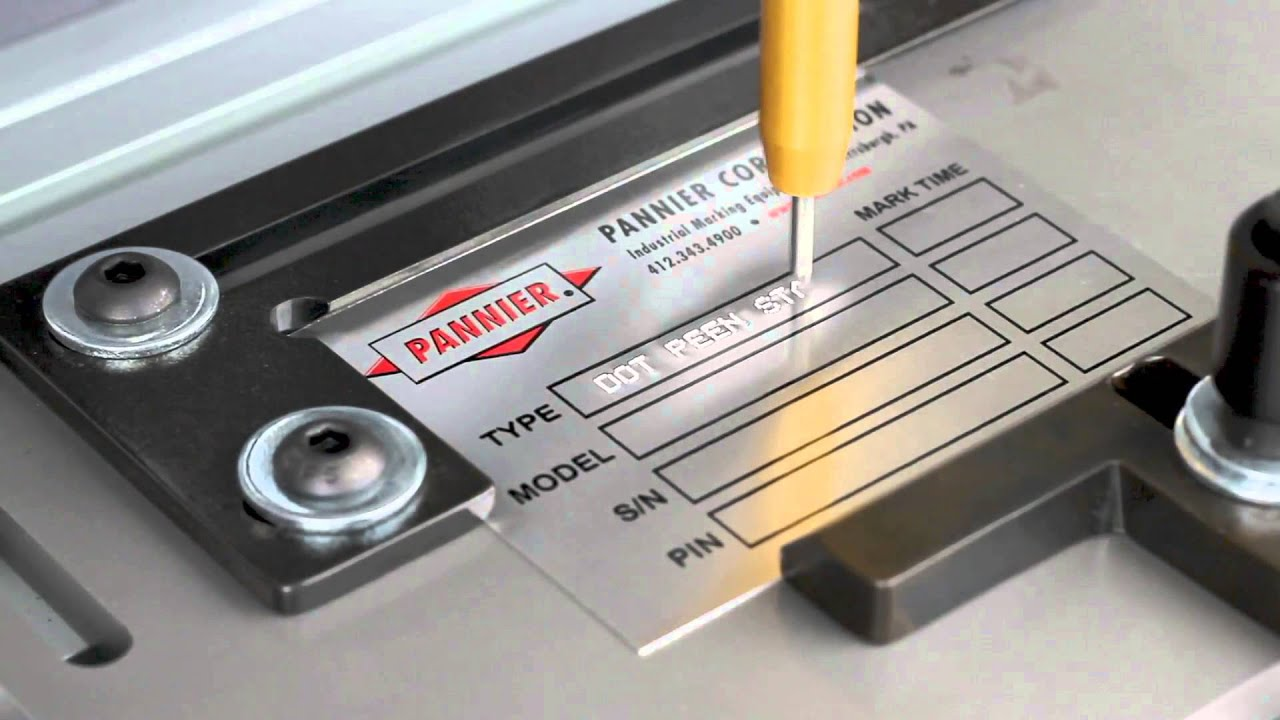 machine engraving