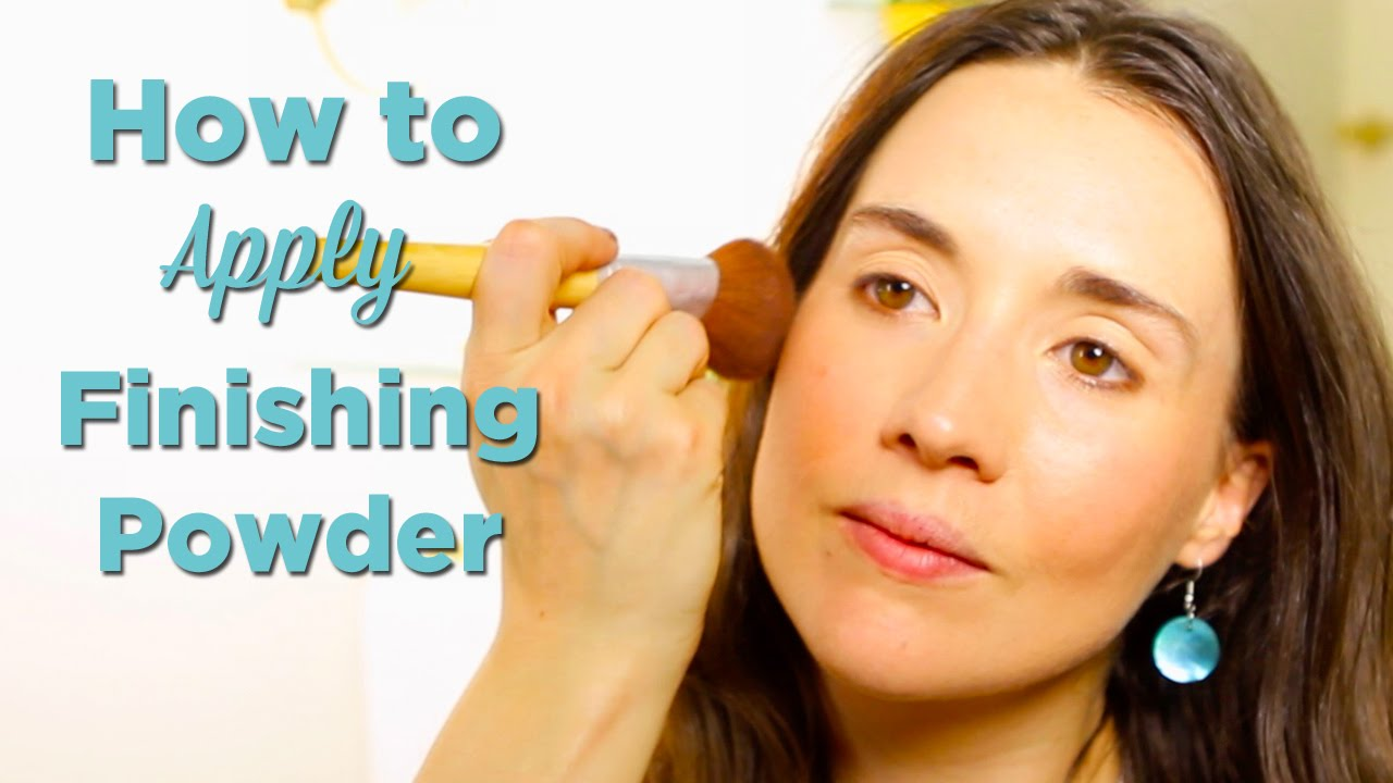 How to apply powder 56