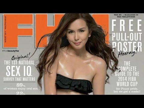 FHM Philippines (Beauty Gonzalez) - August 2014