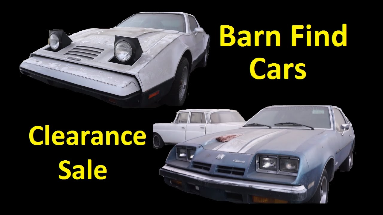 Classic Barn Find Cars Muscle Project Car For Clearance Sale Video