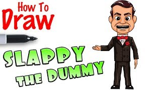 Download Video How to Draw Slappy the Dummy | Goosebumps 2 MP3 3GP MP4