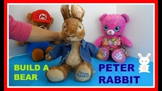 Build A Bear Peter Rabbit Movie Plush Toy