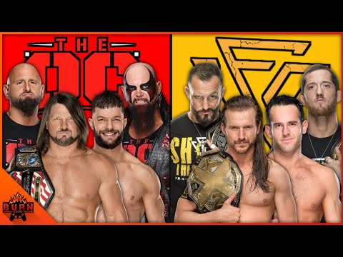 WWE 2K20 UNDISPUTED ERA VS THE OC | TAG TEAM ELIMINATION MATCH |