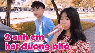 Quốc Linh, Hà Vi hát đường phố khiến ai nấy nghe cũng phải khen nức nở