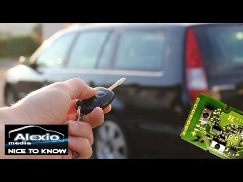 Ford Mondeo 3, Fiesta, Focus 1, C-MaxFunkschlssel Problemlsung -  Ford remote keytroubleshooting