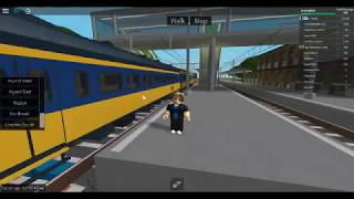 ROBLOX Train Railfanning At Terminal Railways