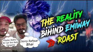 THE REALITY BEHIND Emiway | Raftaar reply to emiway  SHEIKH CHILLI | Khatam Diss Track | #Sadak