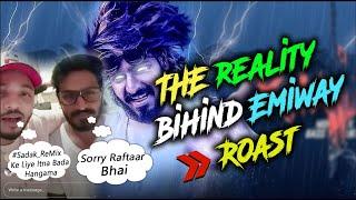 THE REALITY BEHIND Emiway | Raftaar reply to emiway  SHEIKH CHILLI | Khatam Diss Track | #Sadak