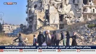 أول عملية إجلاء مدنيين من شرق حلب