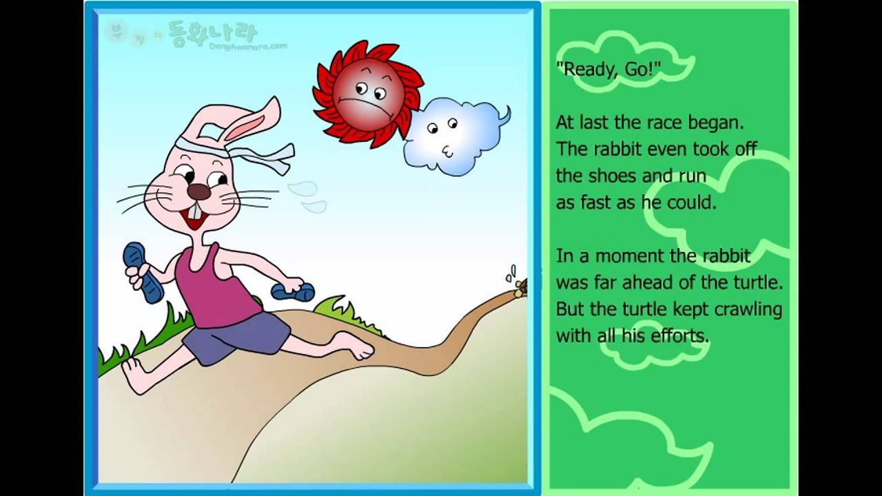 the turtle and the rabbit Watch the turtle and the rabbit by mrkids on dailymotion here.