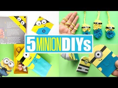 DIY Minion Ideas - Fun Minion Crafts for Kids