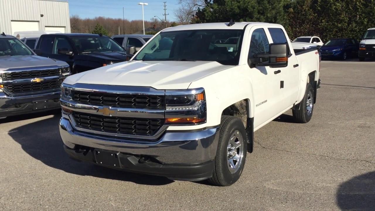 2017 Chevrolet Silverado 1500 Ls Crew Cab Summit White Roy Nichols Motors Courtice On
