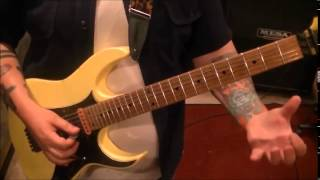 How to play Gods Of War by Def Leppard on guitar by Mike Gross