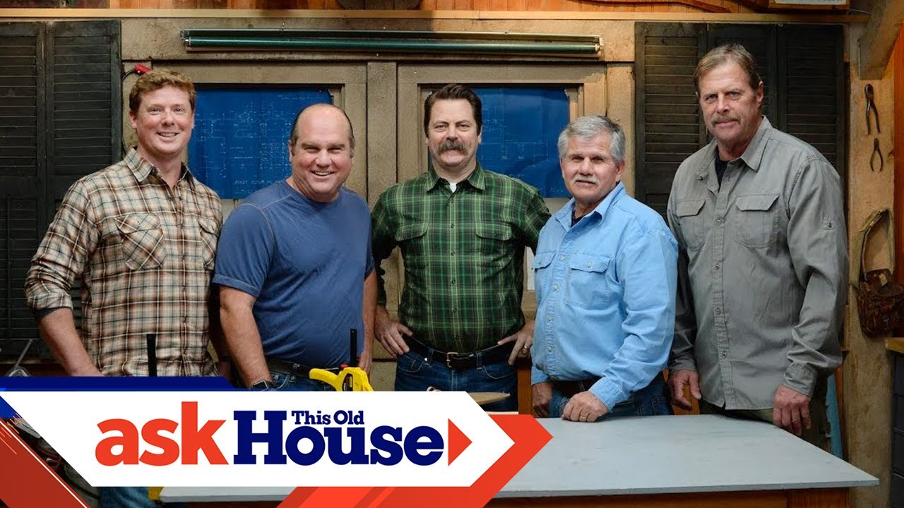 behind the scenes nick offerman visits ask this old house youtube rh youtube com PBS Ask This Old House PBS Ask This Old House