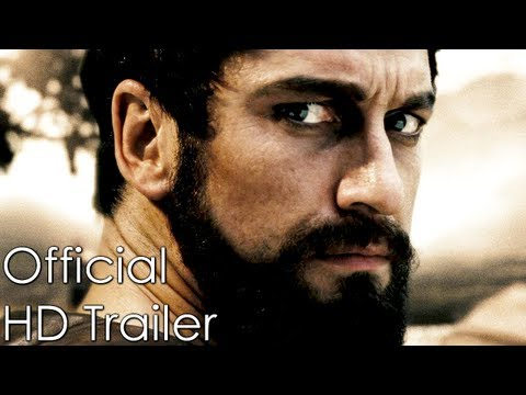 300 - HD Official Trailer (2006) Gerard Butler