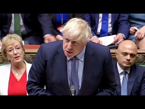 Großbritannien: PremierJohnson Stellt Sich Kritischem Parlament