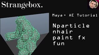 Maya nParticle, nHair, paint fx and nMesh fun tutorial .