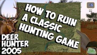 The Worst Hunter - Deer Hunter 2005 Gameplay w/leeroy