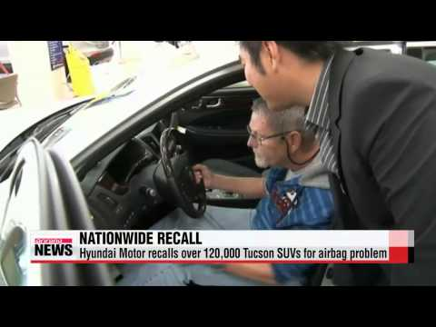 Hyundai Motor recalls more than 120,000 Tucson SUVs