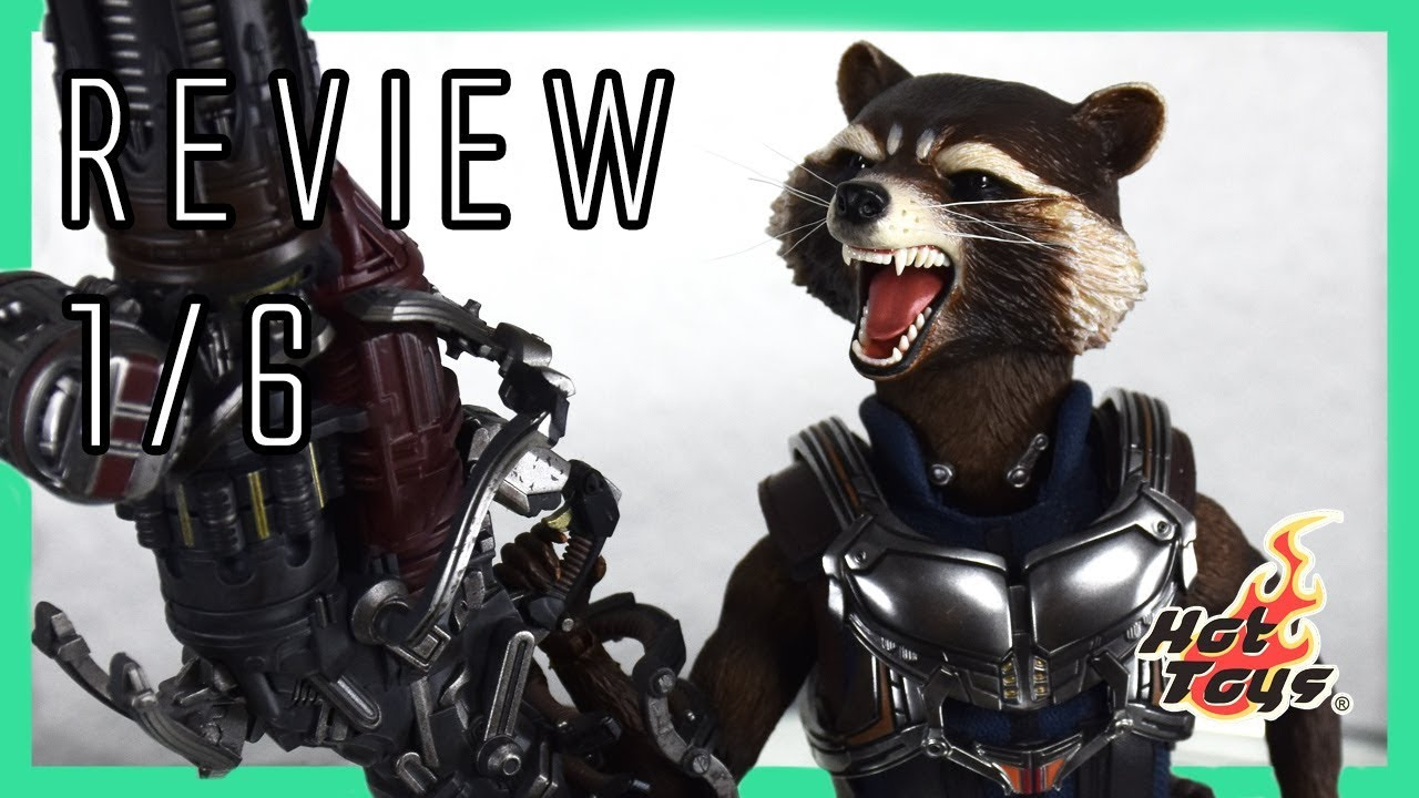Hot Toys Rocket Deluxe Guardians Of The Galaxy Vol 2 1 6 Video