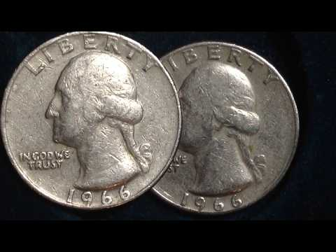 1966 Washington Quarter (Mintage 1.5 BILLION!)