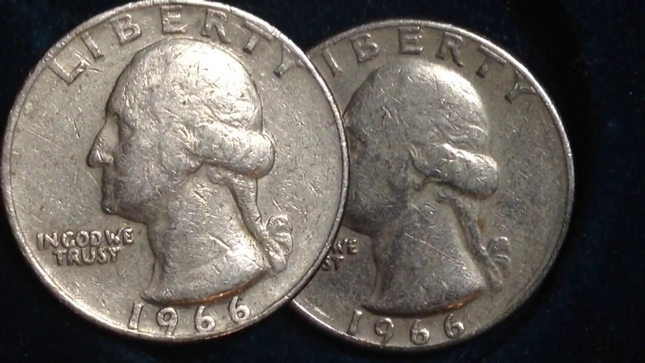1966 Washington Quarter (Mintage 1.5 BILLION!) - YouTube