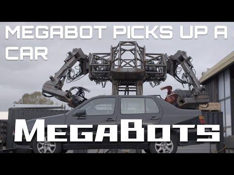 MegaBot Mk.III Picks Up A Car! (Season 1)