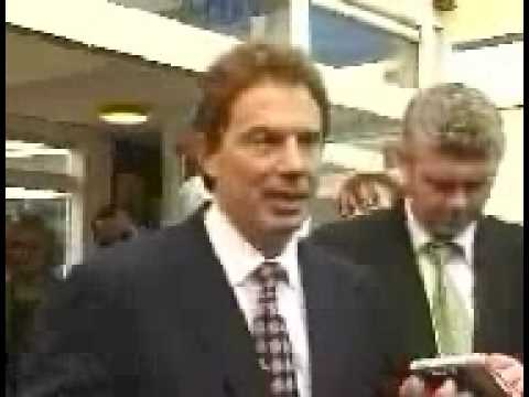 UK General Election 1997 - John Major ends the phoney war - Election Date Announced