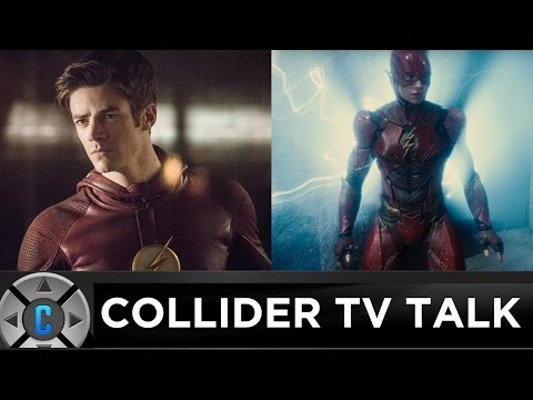 Will TV's The Flash Grant Gustin Appear In The Flash Movie? - Collider TV Talk