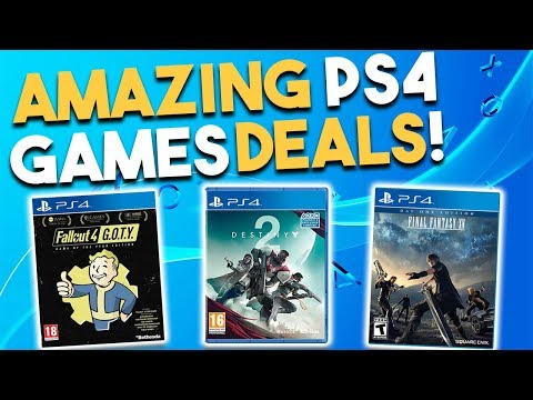 10 AMAZING PS4 Game Deals Available RIGHT NOW! (Best Playstation 4 Game Deals)