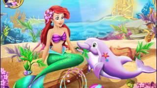 Ariel Dolphin Wash (Ариэль купает дельфина) - прохождение игры