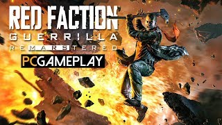 Red Faction Guerrilla Re-Mars-tered Gameplay (PC HD)
