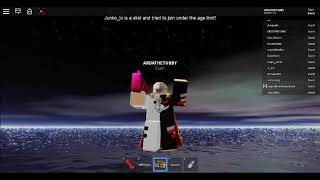The falling of sky, (wtf man) - roblox of death. HA JOKE