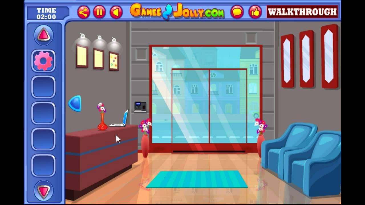 Games2Jolly New Office Escape Walkthrough - YouTube