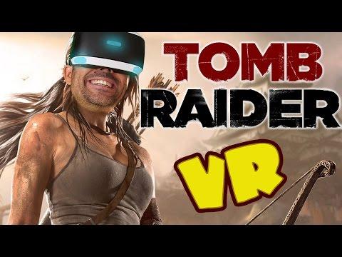 TOMB RIDER EN REALIDAD VIRTUAL   Playstation VR Gameplay en Español
