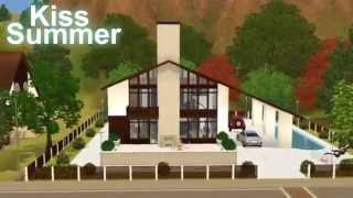 The Sims 3 Cottage Kiss Summer