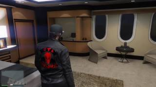 GTA 5 Online (Galaxy Super Yacht) Interior View PS4 (New 2016)