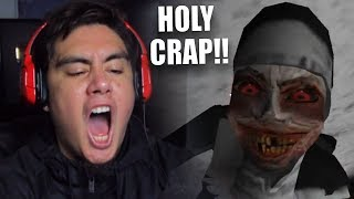 I SWEAR THIS NUN VIDEO IS CURSED | Evil Nun (Cursed Update)