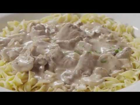 Slow cooker beef stroganoff without sour cream