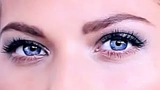 How to make a beautiful eye makeup. Makeup Smoky Eyes eye. How to paint eyes.
