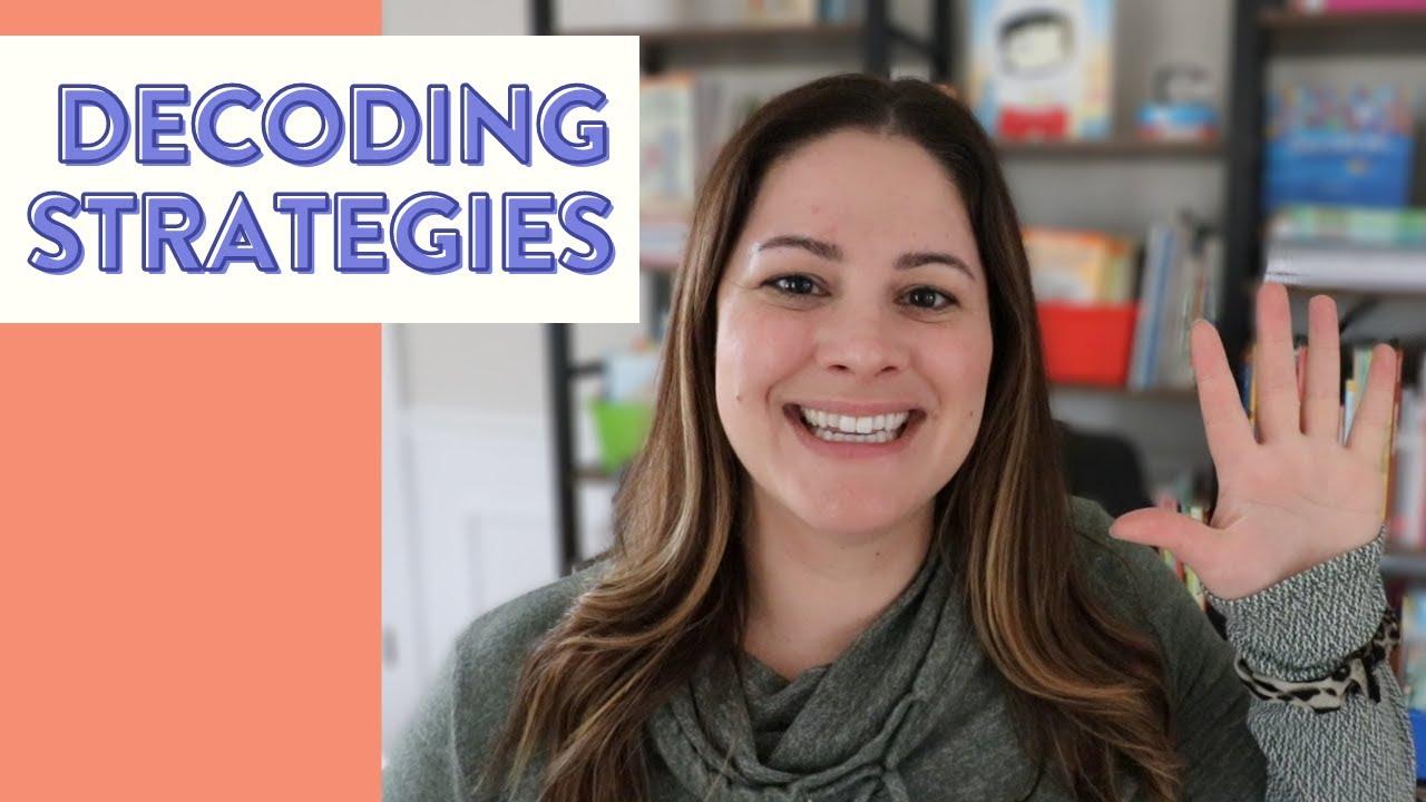 Download 5 Decoding Strategies for Beginning Readers | how to decode words in kindergarten, 1st, & 2nd grade