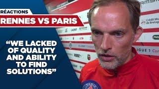 POST MATCH INTERVIEW : RENNES vs PARIS SAINT-GERMAIN